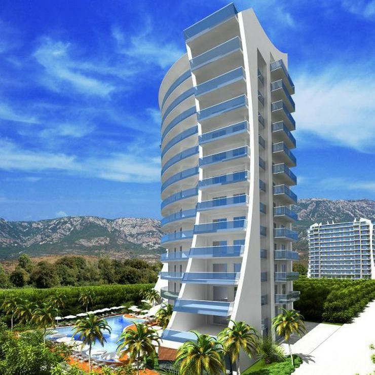 Bild 4: == ALANYA IMMOBILIE == Luxusanlage in Mahmutlar in direkter Strandnähe
