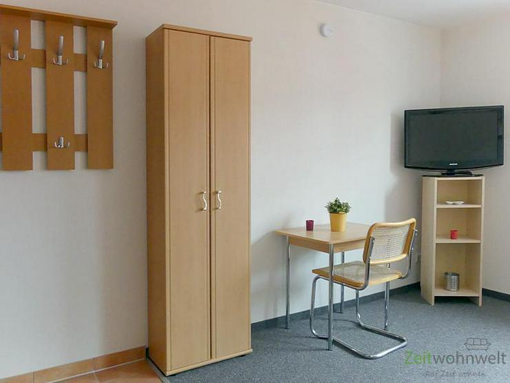Bild 3: (EF0367_M) Erfurt: Hochheim, kleines möbliertes Apartment in ruhiger Lage, PKW-Stellplatz...