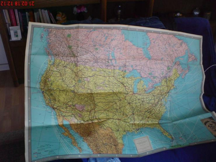 Amerika Karte - Geschichte - Bild 1