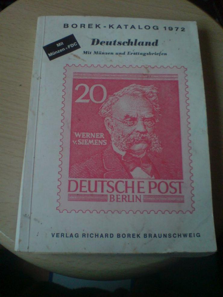 Briefmarken Katalog BOREK 1972