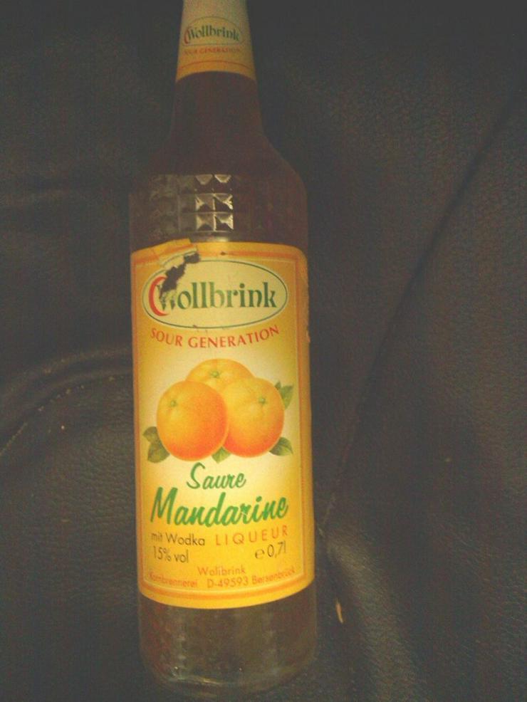 Schnaps saure Mandarine