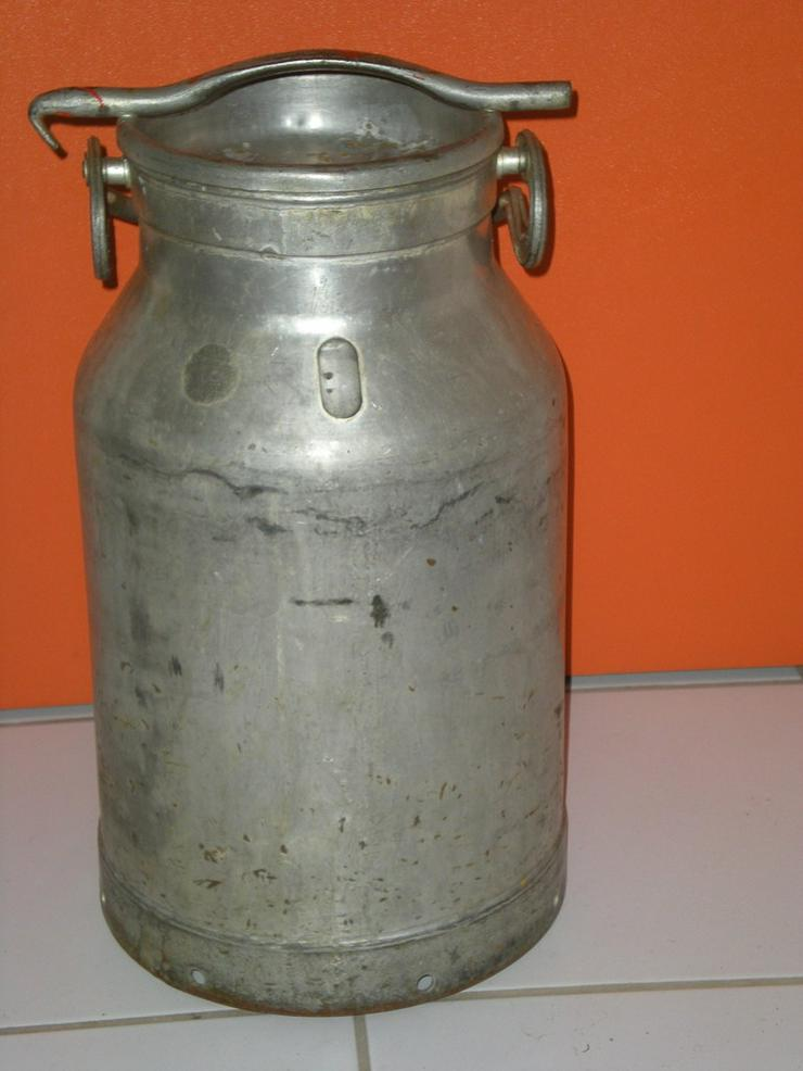 Aluminium Milchkanne