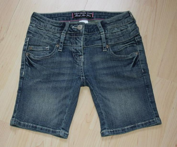 Mädchen Jeans Shorts C&A Kinder Bermuda 128