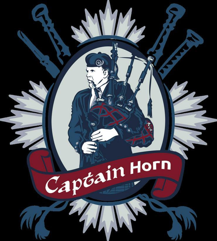 Dudelsackspieler Eventpiper Captain Horn