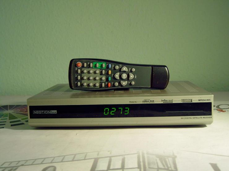 Digitaler-Satelliten-Receiver Neotionbox 501