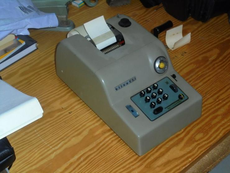Olivetti Rechenmaschine