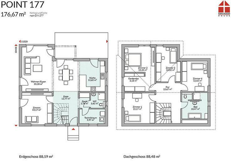 Bild 3: Einfamilienhaus bezugsfertig mit Grundstück!