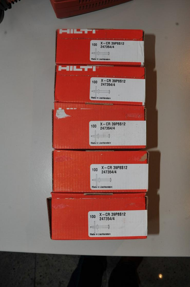 Hilti X-CR 39 P8 S12 Edelstahlnägel 5 Pack - Bild 1