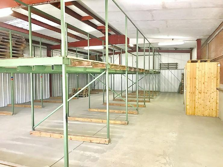 Bild 5: Lagerhalle im Hiltruper Gewerbegebiet Nord
