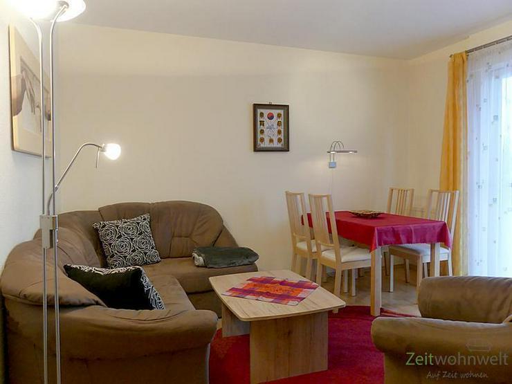 Bild 2: (EF0361_M) Dresden: Leubnitz-Neuostra, kleine möblierte 2-Zimmer-Wohnung mit Terrasse und...