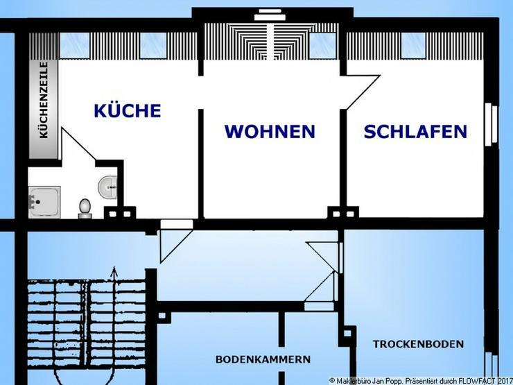 Bild 9: Voll möblierte Wohnung in Richtung Pohlitz