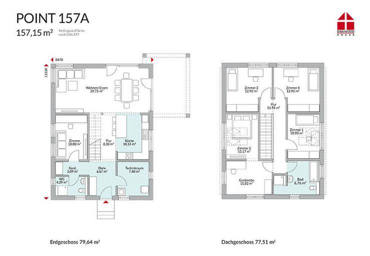Bild 3: Mit Dan-Wood House schöner wohnen! KFW 55