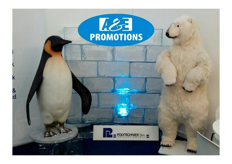 Bild 2: verleih pinguine polarkreis deko hamburg eisbär