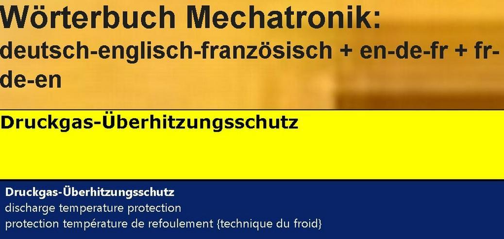 Bild 3: Woerterbuch franzoesisch: Kaelte-Klima-Sanitaer