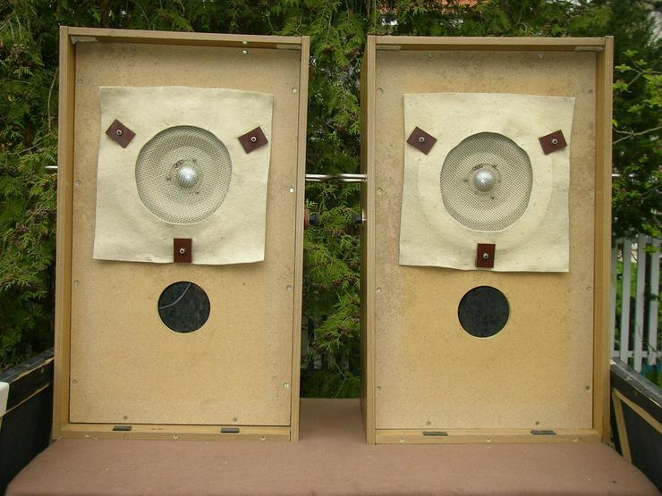 Bild 4: Paar Vintage Studiomonitor O6-3 mit Schulz TH