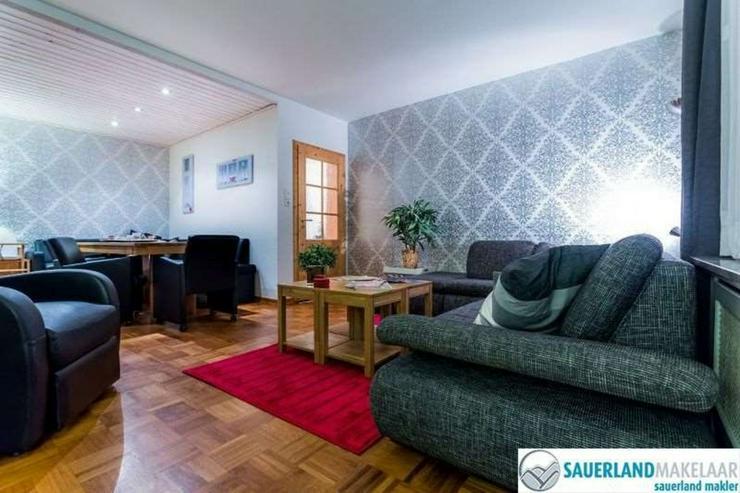 Bild 3: gut vermietetes Ferienhaus mit 3 Wohnungen in Silbach