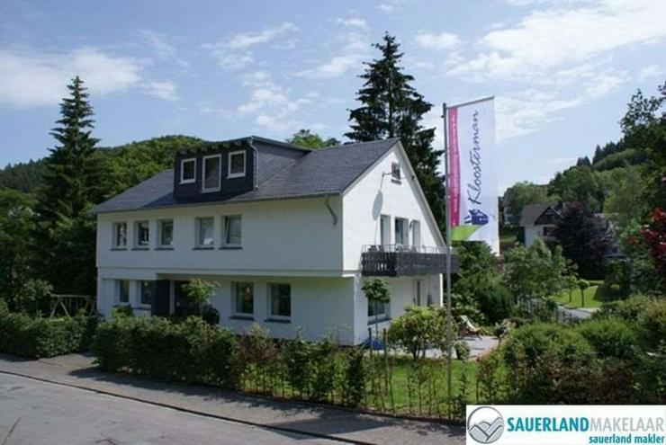 gut vermietetes Ferienhaus mit 3 Wohnungen in Silbach - Haus kaufen - Bild 1