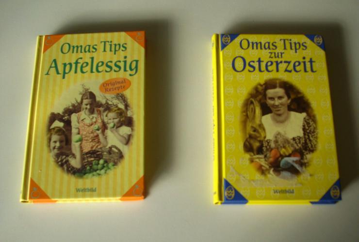 2 Bücher Omas Tips