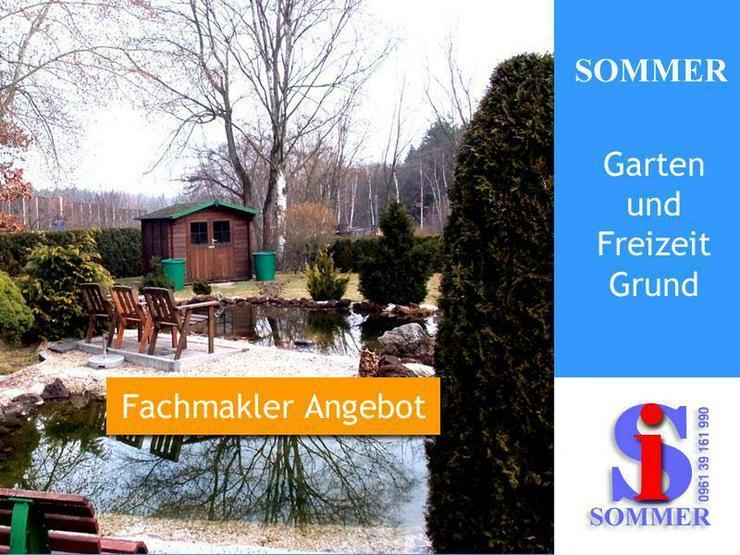 Garten Freizeit Grundstück in Weiden Opf. - Grundstück kaufen - Bild 1
