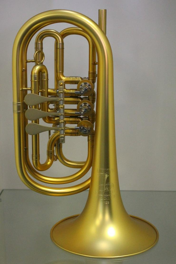 Melton 129 Basstrompete in B, Unikat, Neuware