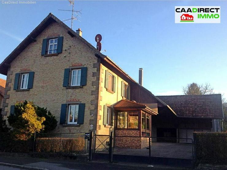 Bauernhaus zu modernisieren im Dorfkern mit Nebengebäude im Elsass - 20 km v/Basel und We...