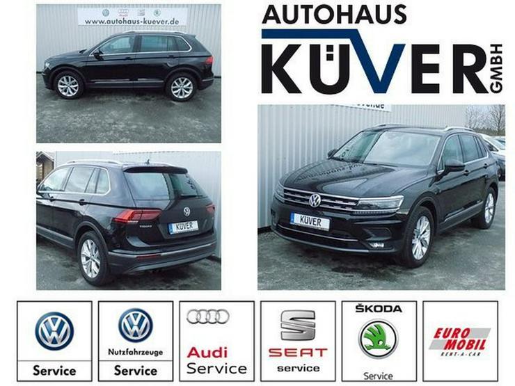 VW Tiguan 1,4 TSI Highline DSG Leder ACC LED AHK - Tiguan - Bild 1