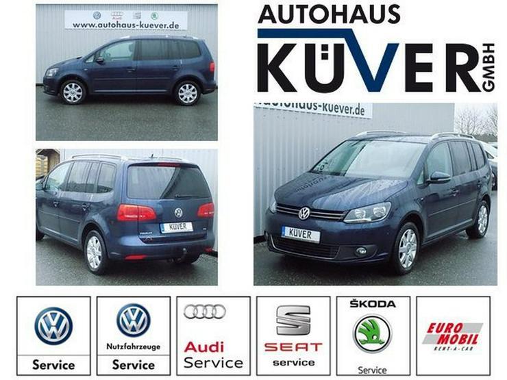 VW Touran 1,6 TDI Comfortline Cup Klima 7-Sitze AHK - Touran - Bild 1