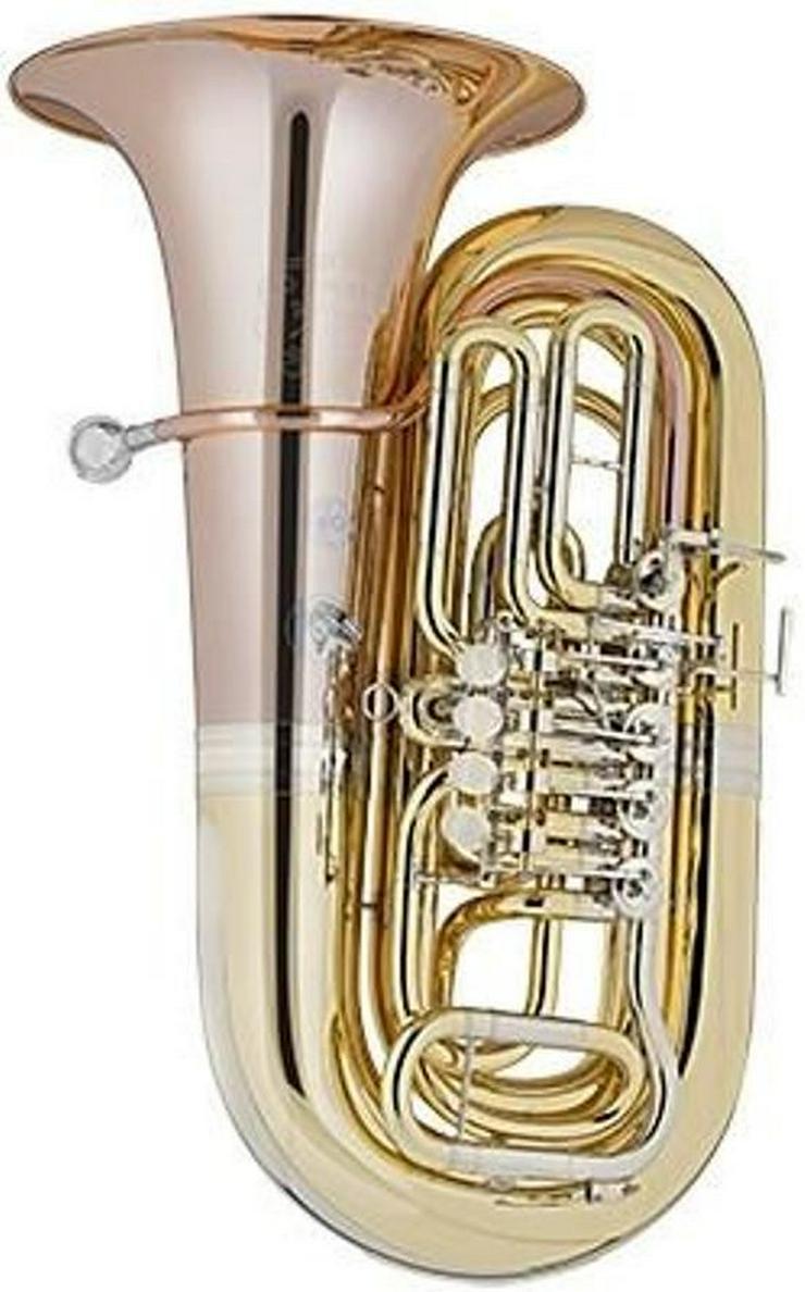 Cervený Tuba Mod. 883-5Z, Opera II, 5 Ventile