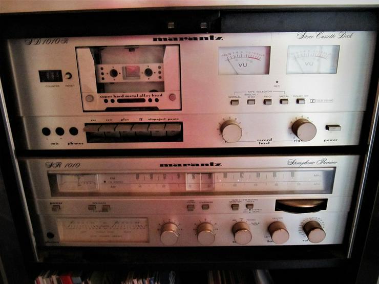 Marantz Receiver SR1010 & Cassettendeck  SD1010