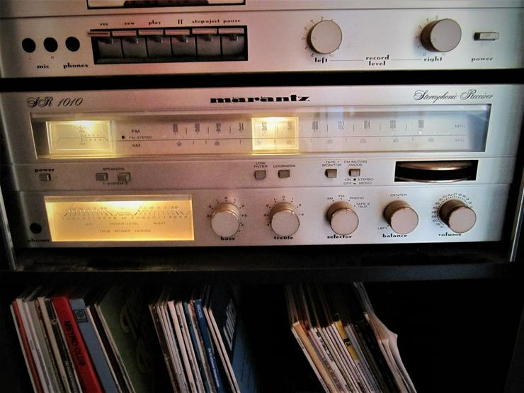 Bild 3: Marantz Receiver SR1010 & Cassettendeck  SD1010