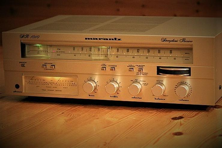 Bild 4: Marantz Receiver SR1010 & Cassettendeck  SD1010