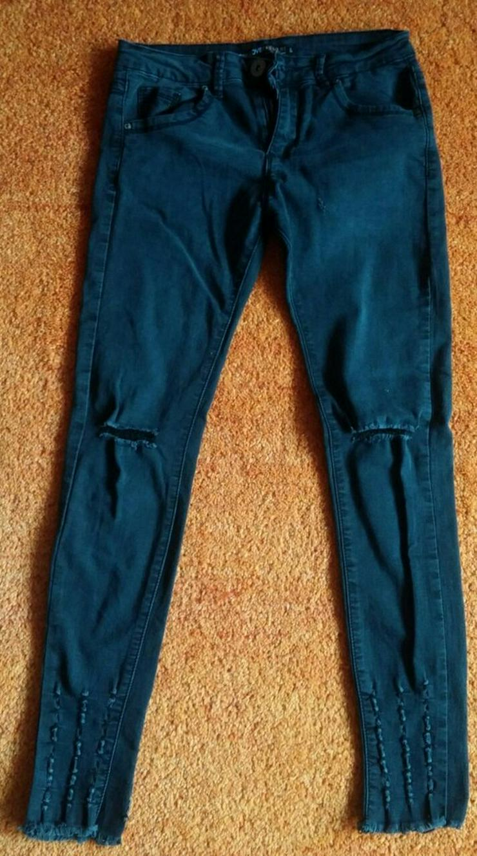 Damen Jeans Hose 7/8 Stretch Gr.S