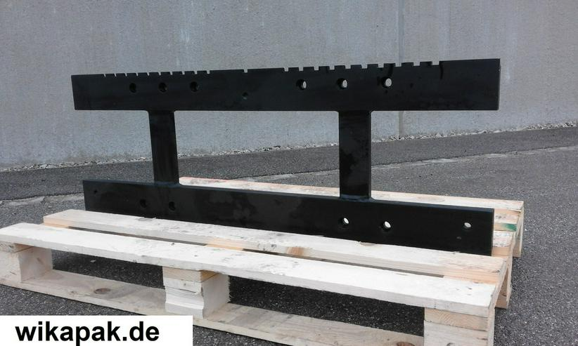 Ersatzplatte Gabelträger Seitenschieber