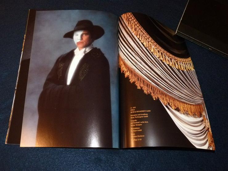 Bild 4: Programmheft von Phatom der Oper 82 Seiten