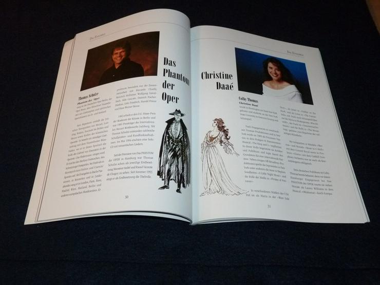 Bild 6: Programmheft von Phatom der Oper 82 Seiten