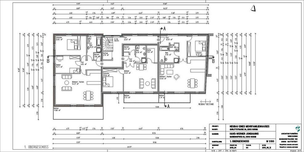 Bild 2: **Hinter der Neustadt-komfortabel wohnen mit KFW 55 Standard**