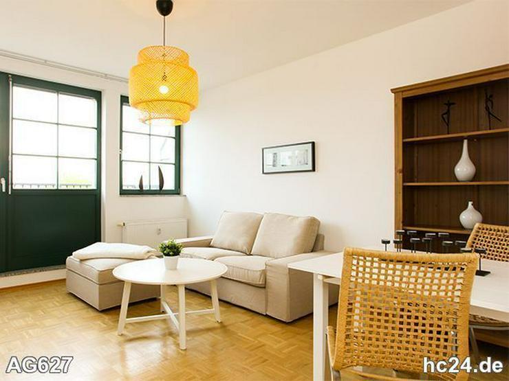 * BALKON + Modern eingerichtete Wohnung in Leipzig + mit LIFT
