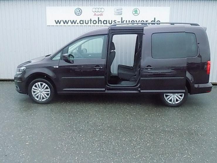 Bild 4: VW Caddy Maxi 2,0 TDI Klima Navi Tempomat 7-Sitze