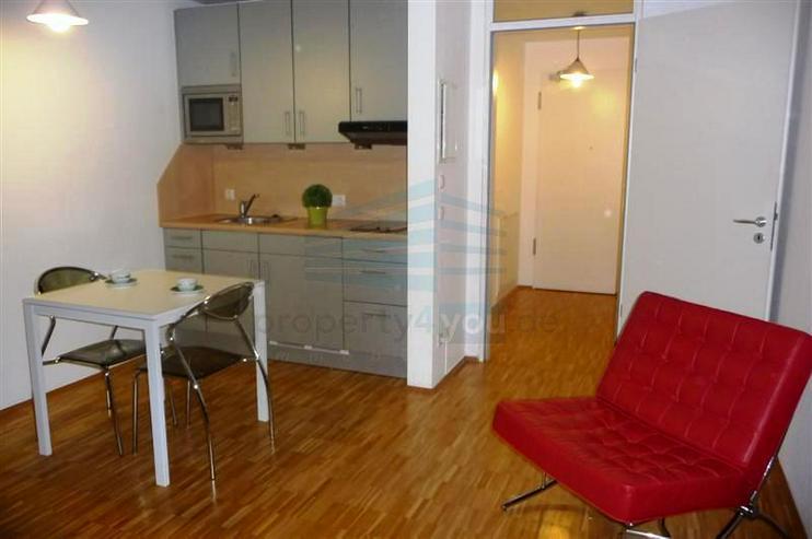 Apartment nähe O2: modernes möbliertes 1-Zimmer-Apartment mit 32qm / München-Moosach - Bild 1