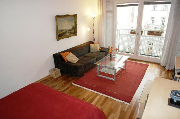 Bild 3: Möblierte 1 1/2 Zimmer Wohnung mit Balkon / in Schwabing-West