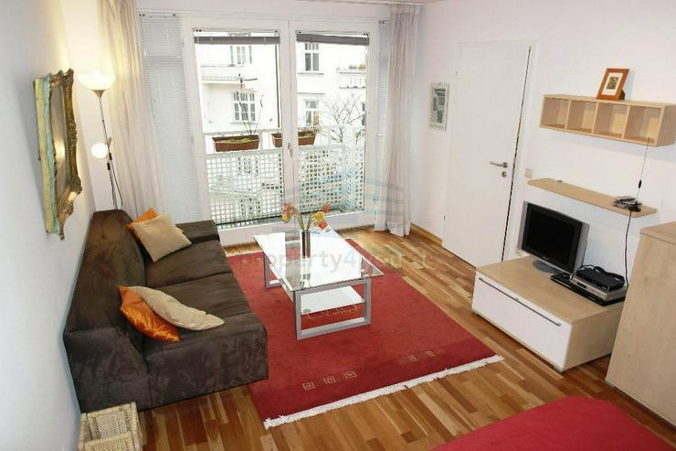 Bild 2: Möblierte 1 1/2 Zimmer Wohnung mit Balkon / in Schwabing-West