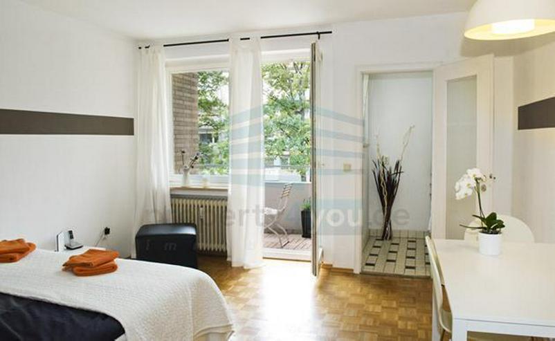 Schöne möblierte 1-Zimmer Wohnung in München-Laim für 2 Personen - Wohnen auf Zeit - Bild 1