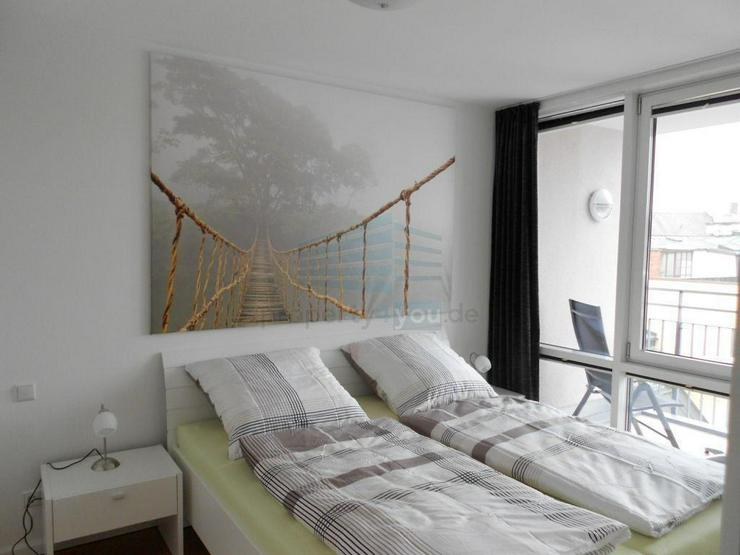 Zentrale, ruhige und helle 2-Zimmer Wohnung mit Südbalkon und Tiefgarage in Nymphenburg/ ... - Wohnen auf Zeit - Bild 1