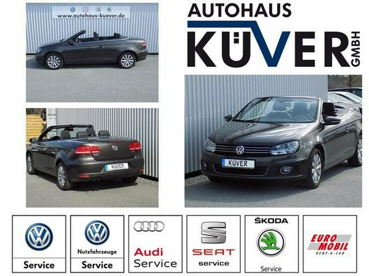 VW Eos 1,4 TSI Black Style Navi Sitzheizung Alu16''