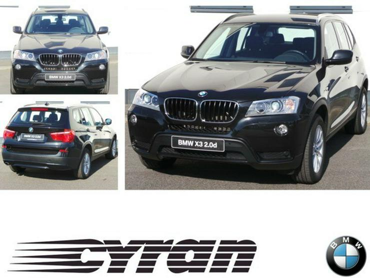 BMW X3 xDrive20d Aut. Navi Business Xenon PDC Durchlade NSW