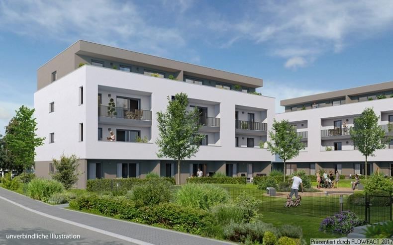 Bild 3: Sang ONE - 3-Zimmer-Penthousewohnung mit ca. 50 m² sonnigem Wohn-/Ess-/Kochbereich und gr...