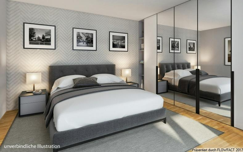 Bild 6: Sang ONE - 3-Zimmer-Penthousewohnung mit ca. 50 m² sonnigem Wohn-/Ess-/Kochbereich und gr...