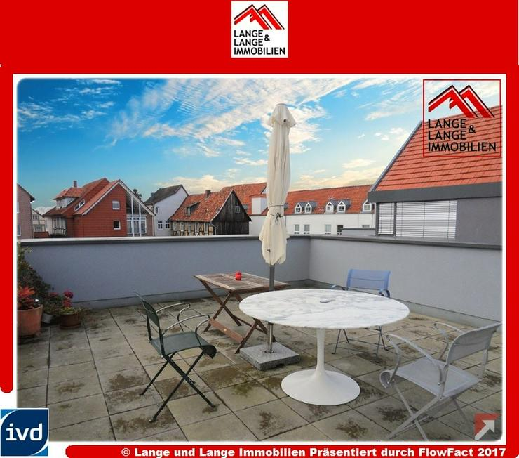 Gifhorn - hochwertige Neubau Penthousewohnung am Schlosssee mit 38 qm Dachterrasse + weite...