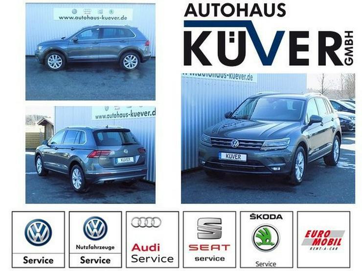 VW Tiguan 1,4 TSI Highline DSG Navi LED ACC AHK - Tiguan - Bild 1