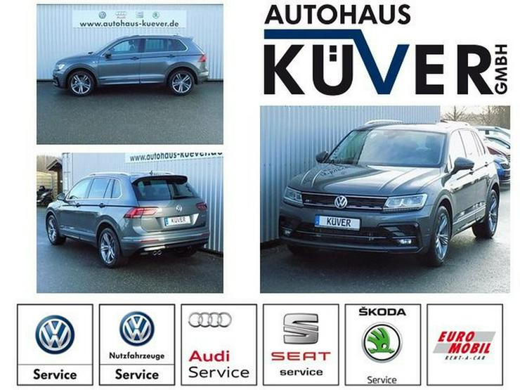 VW Tiguan 2,0 TDI Highline R-Line DSG ACC AHK - Tiguan - Bild 1